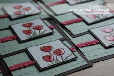 Tulips using the Blessed Easter Stamp set from Stampin' Up! | Stampin' Up! Demonstrator Michelle Last