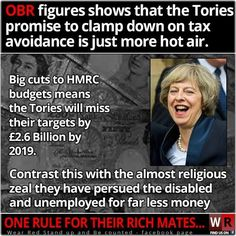 The Tories will throw every resource possible at the cost of benefit fraud. But if you avoid paying tax, you'll be forgotten about. Conservative Memes, Scum Of The Earth, Tory Party, Uk Politics, Did You Know Facts, Austerity, Jeremy Corbyn, Brave New World