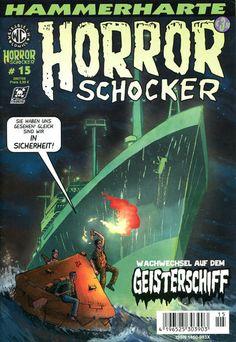 Cover for Horrorschocker (Weissblech Comics, 2004 series) #15 DEZEMBER 2007