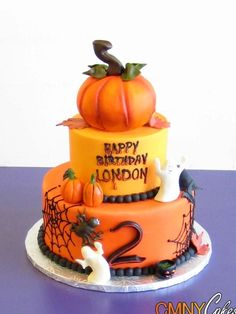 Very awesome Halloween cake!