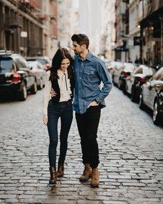 Couple, urban engagement photos, engagement outfits, engagement pictures, e Urban Engagement Photos, Engagement Outfits, Engagement Couple, Engagement Session, Engagement Pictures, Engagements, Couple Portraits, Couple Posing, Couple Shoot
