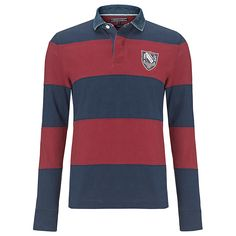 f0d4001978d Buy Tommy Hilfiger Tor Rugby Polo Shirt, Navy, M Online at johnlewis.com