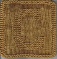 Knitting Patterns Dishcloth Free Knit Dishcloth Pattern: Monogram Letter – C Owl Knitting Pattern, Knitted Washcloth Patterns, Crochet Pumpkin Pattern, Knitted Washcloths, Dishcloth Knitting Patterns, Knit Dishcloth, Knitted Blankets, Loom Knitting, Knit Patterns