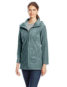 Columbia Women's Benton Springs II Long Hoodie, Pond, Small #falloutfit >>> Read more reviews of the sponsored product by visiting the affiliate link on the image.