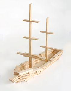 Und das baut Ihr am Kindergeburtstag, wenn das Motto: Piraten Ahoi heißt