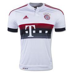 Bayern Munich 15/16 Away Soccer Jersey robben LAHM BENATIA ALONSO BOATENG DANTE Robben Lewandowski MULLER Bayerns Muniches 2016 football jersey
