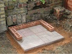 How to build a brick barbeque