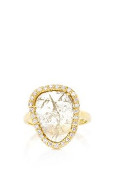 One of a kind kimberly mcdonald diamond slice ring by KIMBERLY MCDONALD Preorder Now on Moda Operandi