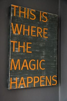 The magic can also happen in the.. Shower, kitchen, dining room table, pool, living room..etc.