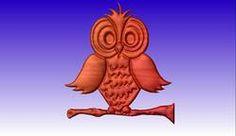Owl No.3 Vector Art