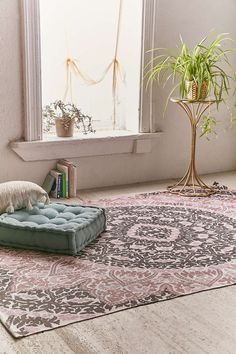 Plum & Bow Aida Printed Rug - Urban Outfitters