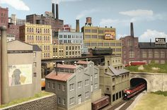 HO Scale sizes for sidewalks and City Streets with Parking - Model Railroader Magazine - Model Railroading, Model Trains, Reviews, Track Plans, and Forums