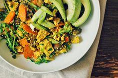 Veggie Tofu Scramble Recipe on Yummly