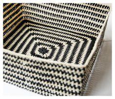 Crochet Box  Signest: Færdig! En hæklet kurv