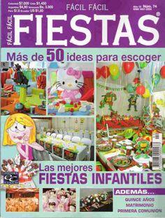 revista gratis como decorar fiestas infantiles