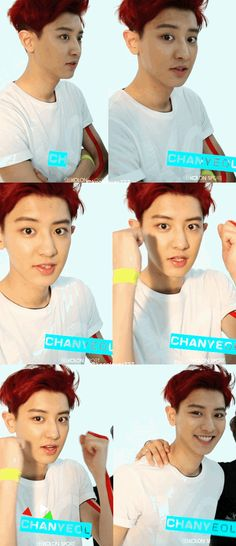 Chanyeol is too cute ;A: pic.twitter.com/rm9DLgvT7a