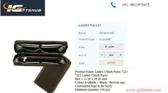 Are you Looking for Best #corporateladieswallet! Expertise in all kinds of gifts for corporate needs here http://www.igiftshub.com