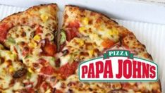 Papa John's has been steadily increasing its vegan pizza options. From dairy-free cheese to marmite scrolls, there's more on the menu than you think. Papa Johns Coupon Code, Papa Johns Promo Codes, Pappa Johns, Pizza Pictures, Dairy Free Cheese, Vegan Pizza, Vegan Food, Pizza Restaurant