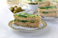 Britanski sendvič s krastavcem i puterom - Vitki Gurman