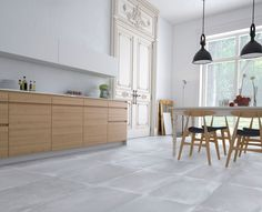 Jovera Gris 60X60 - Serie JOVERA porcelánico | #pavimento #porcelain #tiles #Kitchen