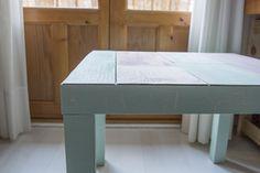 milowcostblog: diy: mesa lack con chalk paint