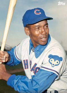 Ernie Banks - Chicago Cubs-(1/31/1931)-(1/23/2015)