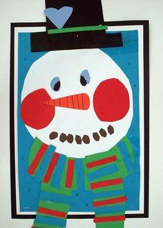 """""""Snowman Portraits"""""""