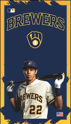 Christian Yelich, Milwaukee Brewers, Baseball Cards, Sports, Hs Sports, Excercise, Sport, Exercise