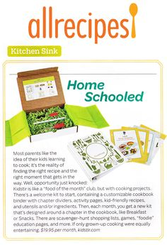 So thrilled to be featured in the August/September issue of allrecipes!
