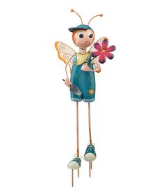 Take a look at this Butterfly Boy Stake by Regal Art & Gift on #zulily today!