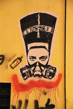 Cairo's artists have turned their city's walls into a vast social network