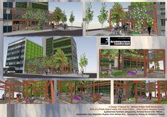 Athens Steel Frame Hanging Urban Garden / Πάρκο Τσέπης σε Αστικο Κενο στην Αθηνα