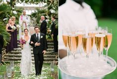 A beautiful outdoor wedding at the One Ocean Club in Nassau Paradise Island, The Bahamas.