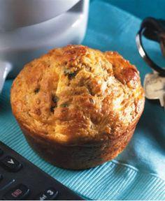 Bacon-Cheddar Breakfast Muffins