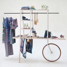 Carro Lungi by Ciszak Dallas. Could make  something similar for vendors cart lemonade/coffee stand