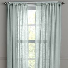Linen Window Panels | The Company Store