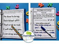 Blends and Digraphs Intervention Binder