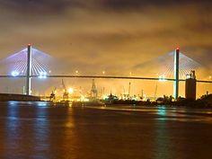 Bridge to Tybee Island - Summer vacation in June!