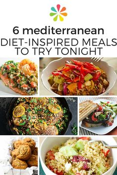 1366 best healthy food recipes images on pinterest cooking recipes 6 mediterranean diet inspired meals to try tonight forumfinder Image collections