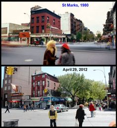 NYC Corners, New York City Street Corners Then and Now