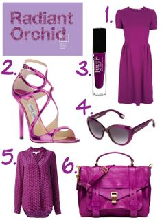 radiant orchid   RADIANT ORCHID: PANTONE'S 2014 COLOR OF THE YEAR   GOLD COAST GIRL