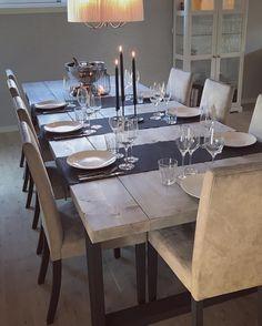 """412 likerklikk, 16 kommentarer – Tresløyd (@tresloeyd) på Instagram: """"Kundebilde av FROGNER spisebord. Dette var lekkert! @vibbzs 🙌🏼 FROGNER håndlaget spisebord lages på…"""""""