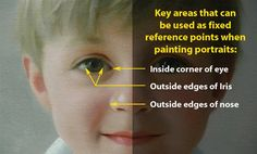 Key points that can be referenced when painting portraits.