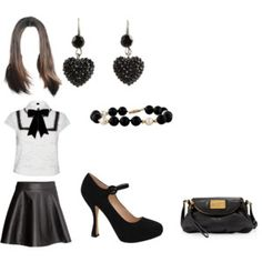 Aria Montgomery inspired outfit