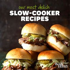 Slow Cooker Recipes You Will Love (BHG)