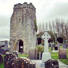 "Irish Archaeology.ie (@irish_archaeology) on Instagram: ""The ruins of a medieval church tower/spire at Knocktopher, Co Kilkenny #irisharchaeology #kilkenny…"""