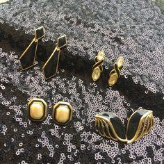 Spotted while shopping on Poshmark: Vintage Earring Bundle! #poshmark #fashion #shopping #style #Napier #Jewelry