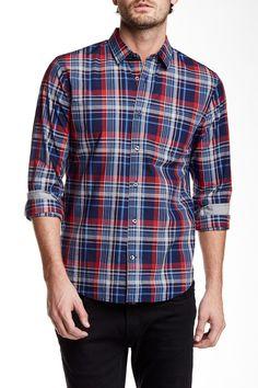 Melrose Long Sleeve Slim Fit Shirt