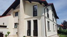 Profile personalizate din polistiren CoArtCo pentru fatada casei Garage Doors, Exterior, House Design, Windows, Outdoor Decor, Profile, Houses, Home Decor, Facades