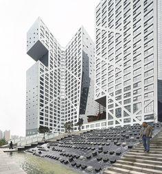 Sliced Porosity Block / Steven Holl Architects, by Hufton + Crow